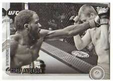 2015 Topps UFC Chronicles Black and White /188 #243 Corey Anderson