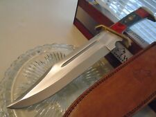 """Timber Wolf South Western Outlaw Bowie Hunter Knife Full Tang 16 1/2"""" TW668 New"""