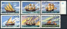 San Tommaso e il principe Isole 1979 Mi. 598-603 Usato 100% Barche Barche a vel