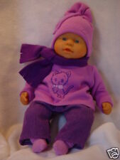 Für first Baby Annabell Kleidung Puppenkleidung 5-TLG.