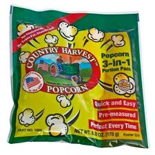 Popcorn Machine supplies - Country Harvest Tri-Pack Portion pack for 4 oz