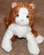 "6"" Webkinz Lil Kinz Striped Alley Cat No Code Plush"