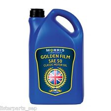 Morris Lubricants Golden Film SAE 50 Engine Oil 5 Litre