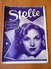 STELLE n. 45 (1934) Astrid Alluyn, Clara Lou Sheridan, Greta Garbo
