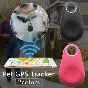 Pet GPS Tracker Smart Dog Bluetooth Locator Pet Cat Collar Alarm Remote Wireless