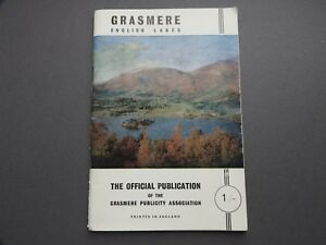 1950/60's Guide to the Grasmere OFFICIAL PUBLICATION GREAT ADVERTS & MAP