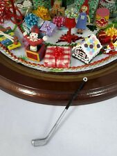 For Westrim Beaded Miniature Christmas Tree * Under Tree Decor * Golf Club