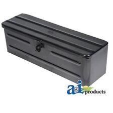 5A3BL Tool Box Black Fits Massey Ferguson Ford John Deere White Oliver Tractors