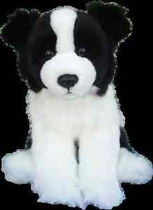 "Faithful Friends ~ BORDER COLLIE ~ Floppy Soft Toy/Plush ~ 12"""