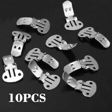 10x Blank Shoes Flower Clips Kit On Findings Accessories Buckle DIY Material US