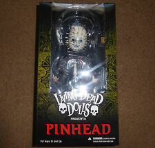 LIVING DEAD DOLLS Presents HELLRAISER PINHEAD LDD DOLL Mezco - New In Hand!!