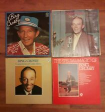 4x BING CROSBY Vinyl LPs Crosby Classics/ Special Magic of/ Come Rain or Shine