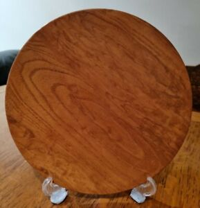Wooden Dish approx 22cm.