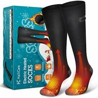HailiCare Electric Heated Socks, Rechargeable 3.7v 4000mAh Battery Heating