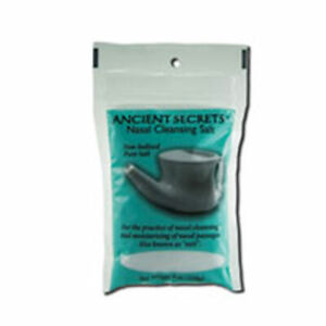 Nasal Cleansing Salt Bag 8 Oz  by Ancient Secrets