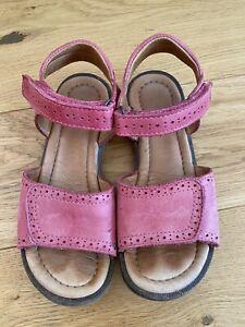 Bisgaard Mädchen Sandalen in pink Gr. 33 Lederschuhe