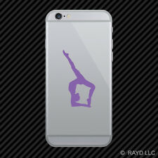 (2x) Gymnast Cell Phone Sticker Mobile #2 many colors