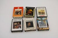 6 Tape Lot WILLIE NELSON 8 track tapes 1970s