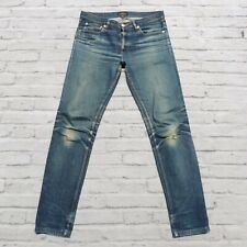 APC Petit New Standard Distressed Denim Jeans Size 32 Faded Destroyed