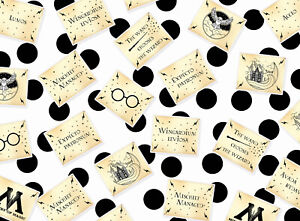 Magical Wizarding Spells Table Confetti - Harry Potter Inspired Birthday Party