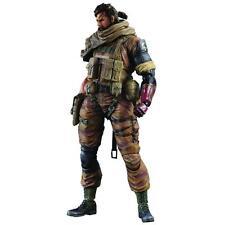 Officially Licensed Metal Gear Phantom Pain Venom Snake Gold Tiger Play Arts Kai