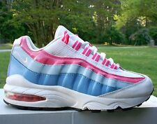 Nike Air Max 95 Girl's Running Shoes Size: 4Y White Spark Coast SKU: (310830-109