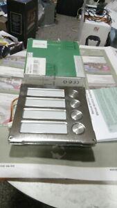 Comelit 3064/C Simplebus 4 Button Module - door entry panel