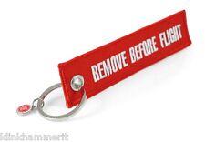 REMOVE BEFORE FLIGHT Schlüsselanhänger | Original |Kostenloser DE Versand