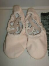 9d3f5a86d0666 Sansha Pro Rose Toile Ballet Chaussures Chaussons 9N Neuf !