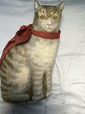 "Antique 14"" Large  Arnold Print Works circa 1892 Cloth Cat Excellent Condition"