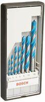 Bosch 2607010543 Robust Line CYL-9 Multi-Purpose Drill Bit, 0 V, Silver, Set o