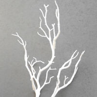 Wedding Decoration Peacock Coral Branch Plastic Artificial Plant Dried Tree 35cm