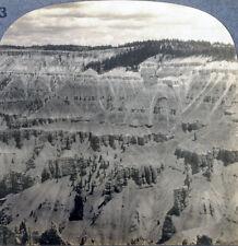Keystone Stereoview Painted Chasm, Cedar Breaks, UT 20's Scenic America Set #203