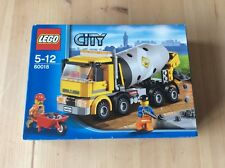 Lego City Cement Mixer 60018 Brand New Sealed In Box Rare