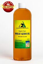 WHEAT GERM OIL UNREFINED ORGANIC CARRIER COLD PRESSED VIRGIN RAW PURE 16 OZ