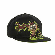 Looney Tunes Tazmanian Devil Slimed Snapback Adjustable Flat Bill Hat Cap TAZ LT
