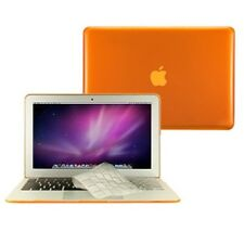 "2 in 1 Crystal ORANGE Case for Macbook AIR 13"" A1369 with TPU Keyboard Cover"