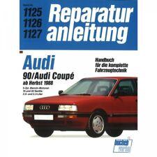 Audi Coupe 90 B3 Typ 89 (1988-1996) Reparaturanleitung Bucheli Verlag