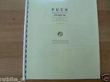 P0012 PUCH---BESCHREIBUNG+BETRIEB+INSTANDHALTUNG---TYP 250 SG-MODEL