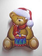 Keksdose Vorratsdose Weihnachts Teddybär rot-bunt