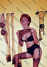 Vintage Pin-up Poster Print of Lady Pegging washing on the line in Panties #2