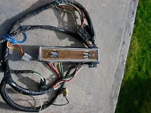 OEM POWER WINDOW & LOCK SWITCH PANEL RH AMC Concord Spirit Eagle Door Gremlin