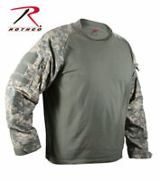 Rothco 90000 ACU Digital Camo Military Long Sleeve Lightweight Combat Shirt S-3X