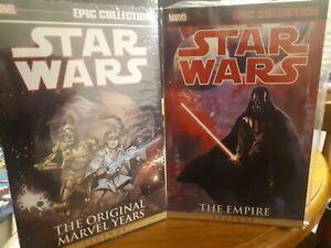 MARVEL Graphic Novel - Epic Collection - SW Original Marvel Vol 2 and EmpireVol2
