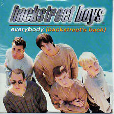 ★☆★ CD Single BACKSTREET BOYS Everybody (Backstreet's back) 2-track CARDSL ★☆★
