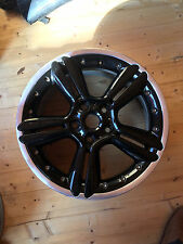 "GENUINE MINI 18"" COUNTRYMAN PACEMAN R127 5 STAR 2 PIECE ALLOY WHEEL R60 R61"