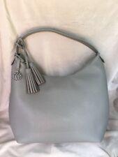 DKNY Vintages Style Leather Shoulder Bag Color- Alloy/SV