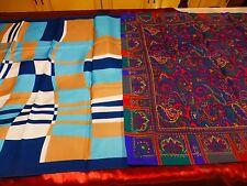 lot 2  foulards vintage  italie t b état