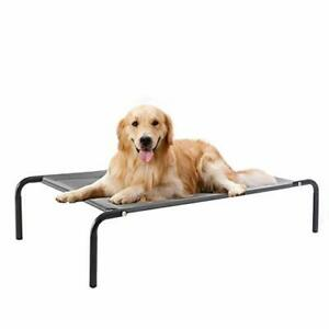 WESTERN HOME WH Elevated Dog Bed cot Raised Portable Pet Beds for Extra Large...