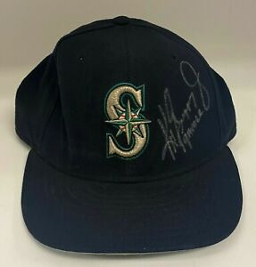 "Ken Griffey Jr "" Gamer "" Signed Game Used Mariners Hat Cap Sz 7 1/8 JSA LOA HOF"